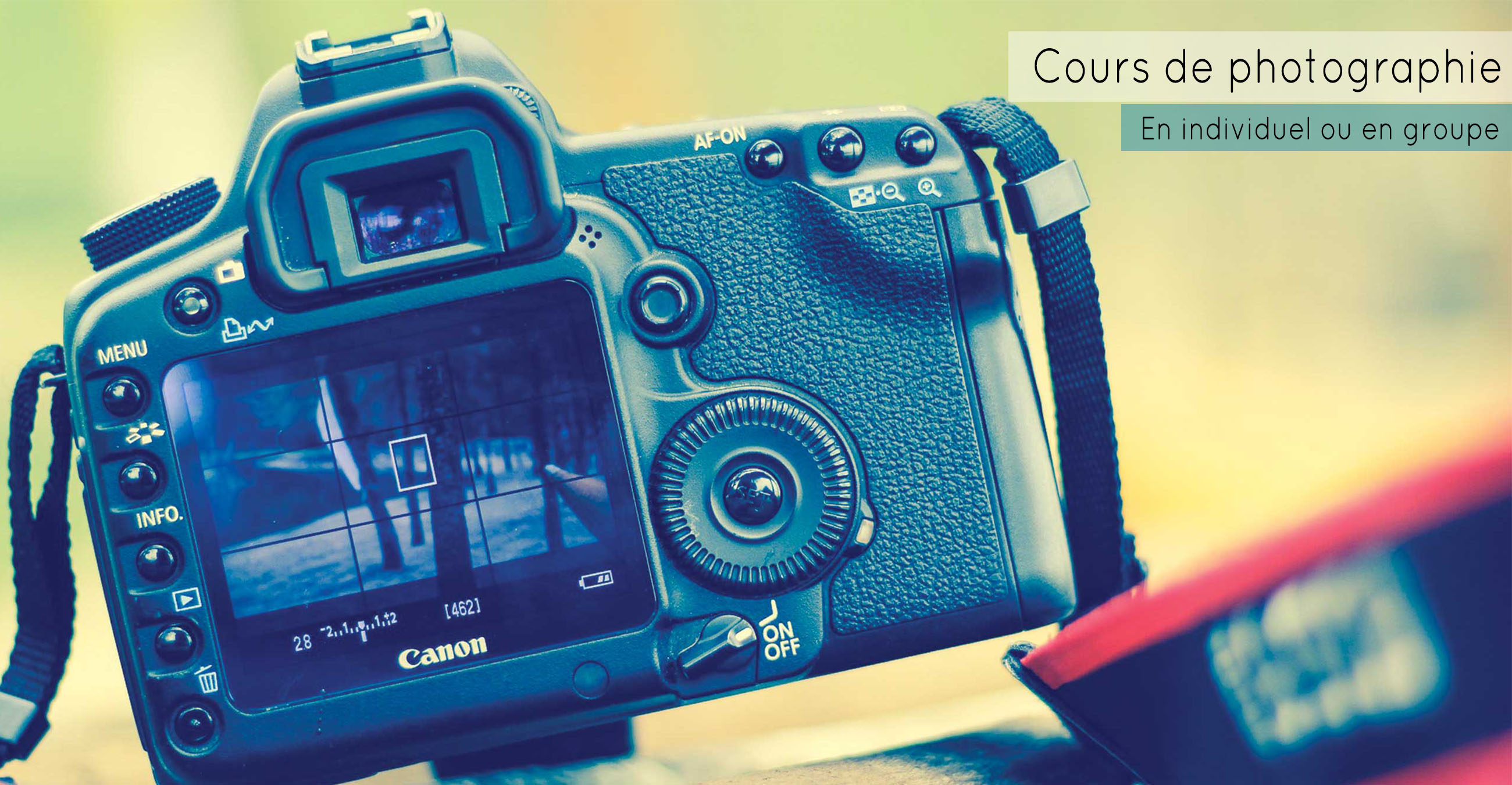 Cours photo